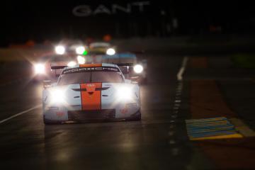 #86 GULF RACING / GBR / Porsche 911 RSR (991) - 24 hours of Le Mans  - Circuit de la Sarthe - Le Mans - France -