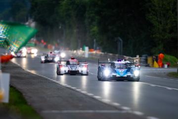 #47 CETILAR VILLIRBA CORSE / ITA / Dallara P217 - Gibson - 24 hours of Le Mans  - Circuit de la Sarthe - Le Mans - France -