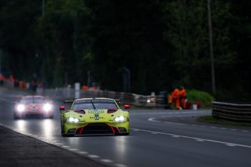 #95 ASTON MARTIN RACING / GBR / Aston Martin Vantage AMR -24 hours of Le Mans  - Circuit de la Sarthe - Le Mans - France -