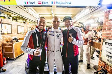 #91 PORSCHE GT TEAM / DEU / Porsche 911 RSR / Richard Lietz (AUT) / Gianmaria Bruni (ITA) / Frederic Makowiecki (FRA) -  24 hours of Le Mans  - Circuit de la Sarthe - Le Mans - France