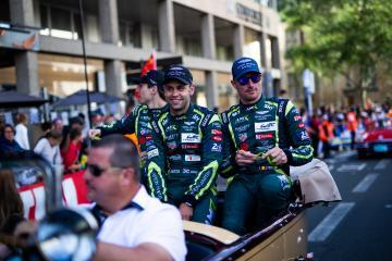 Drivers parade - #97 ASTON MARTIN RACING / GBR / Jonathan Adam (GBR) / Alex Lynn (GBR) / Maxime Martin (BEL) - 24 hours of Le Mans  - Circuit de la Sarthe - Le Mans - France -