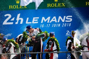 TOYOTA GAZOO RACING / Sebastien Buemi (CHE) - 24 hours of Le Mans  - Circuit de la Sarthe - Le Mans - France -