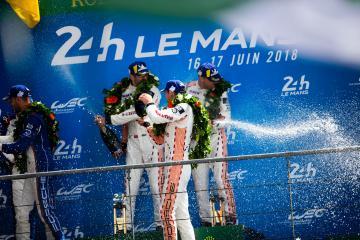 #92 PORSCHE GT TEAM / DEU / Porsche 911 RSR / Michael Christensen (DNK) / Kevin Estre (FRA) / Laurens Vanthoor (BEL) - 24 hours of Le Mans  - Circuit de la Sarthe - Le Mans - France -