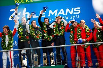 #77 DEMPSEY-PROTON RACING / DEU / Porsche 911 RSR / Christian Ried (DEU) / Matt Campbell (AUS) / Julien Andlauer (FRA) - 24 hours of Le Mans  - Circuit de la Sarthe - Le Mans - France -