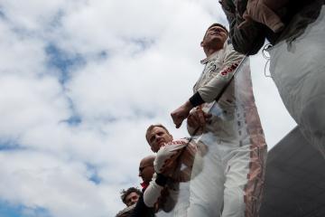 #92 PORSCHE GT TEAM / DEU / Kevin Estre (FRA) / Laurens Vanthoor (BEL) -24 hours of Le Mans  - Circuit de la Sarthe - Le Mans - France -