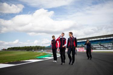 Drivers Track Walk - #92 PORSCHE GT TEAM / DEU / Porsche 911 RSR / Michael Christensen (DNK) / Kevin Estre (FRA) - 6 hours of Silverstone - Silverstone - Towcester - Great Britain -