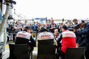 Autograph Session - #8 TOYOTA GAZOO RACING / JPN / Toyota TS050 - Hybrid - Hybrid / Sebastien Buemi (CHE) / Fernando Alonso (ESP) / Kazuki Nakajima (JPN) - 6 hours of Silverstone - Silverstone - Towcester - Great Britain -
