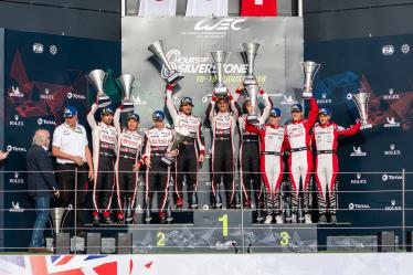 Overall Podium -6 hours of Silverstone - Silverstone - Towcester - Great Britain -