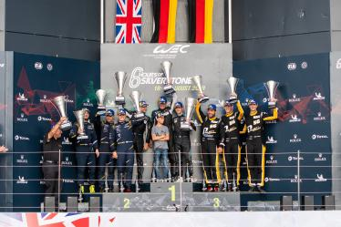 GTE AM Podium -6 hours of Silverstone - Silverstone - Towcester - Great Britain -