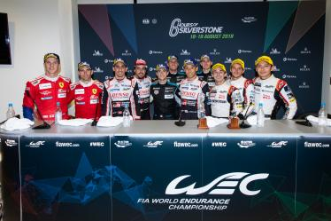 Press Conference - 6 hours of Silverstone - Silverstone - Towcester - Great Britain -6 hours of Silverstone - Silverstone - Towcester - Great Britain -