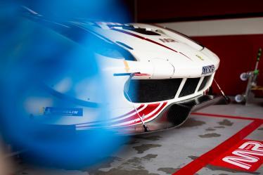 Set up -#54 SPIRIT OF RACE / CHE / Ferrari 488 GTE - 6 hours of Fuji - Fuji Speedway - Oyama - Japan -
