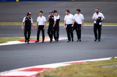 Drivers Track Walk - #8 TOYOTA GAZOO RACING / JPN / Toyota TS050 - Hybrid - Hybrid / Sebastien Buemi (CHE) / Fernando Alonso (ESP) / Kazuki Nakajima (JPN) - 6 hours of Fuji - Fuji Speedway - Oyama - Japan -