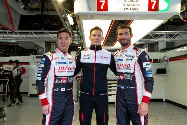 #7 TOYOTA GAZOO RACING / JPN / Toyota TS050 - Hybrid - Hybrid / Mike Conway (GBR) / Kamui Kobayashi (JPN) / Jose Maria Lopez (ARG) - 6 hours of Fuji - Fuji Speedway - Oyama - Japan -
