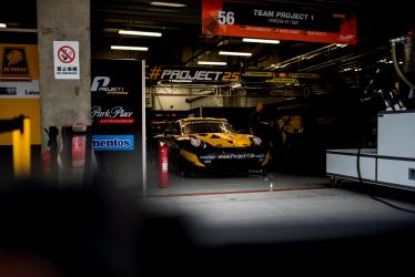 Set Up -#56 TEAM PROJECT 1 / DEU / Porsche 911 RSR -6 hours of Shanghai - Shanghai International Circuit - Shanghai Shi - China -