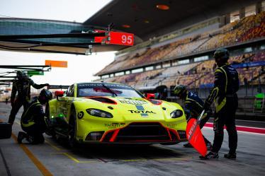 #95 ASTON MARTIN RACING / GBR / Aston Martin Vantage AMR -6 hours of Shanghai - Shanghai International Circuit - Shanghai Shi - China -