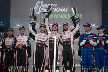 #7 TOYOTA GAZOO RACING / JPN / Toyota TS050 - Hybrid - Hybrid / Mike Conway (GBR) / Kamui Kobayashi (JPN) / Jose Maria Lopez (ARG) - 6 hours of Shanghai - Shanghai International Circuit - Shanghai Shi - China -