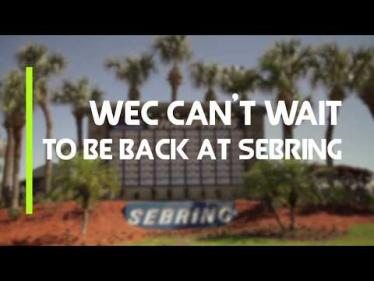 WEC can't wait to be back at Sebring in 2019!