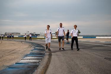 Drivers Track Walk - #81 BMW TEAM MTEK / DEU / BMW M8 GTE / Martin Tomczyk (DEU) / Alexander Sims (GRB) -1000 Miles of Sebring - Sebring international Raceway - Sebring - Florida - United States of America -