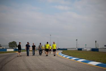 Drivers Track Walk - #95 ASTON MARTIN RACING / GBR / Aston Martin Vantage / Nicki Thiim (DNK) / Marco Sorensen (DNK) - 1000 Miles of Sebring - Sebring international Raceway - Sebring - Florida - United States of America -