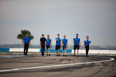 Drivers Track Walk - FORD CHIP GANASSI TEAM UK / USA - 1000 Miles of Sebring - Sebring international Raceway - Sebring - Florida - United States of America -