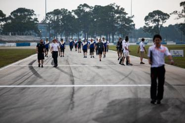 Drivers Track Walk - 1000 Miles of Sebring - Sebring international Raceway - Sebring - Florida - United States of America -