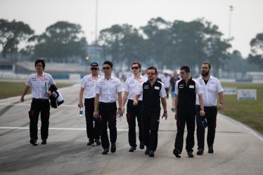 Drivers Track Walk - #8 TOYOTA GAZOO RACING / JPN // Sebastien Buemi (CHE) / Fernando Alonso (ESP) / Kazuki Nakajima (JPN) - 1000 Miles of Sebring - Sebring international Raceway - Sebring - Florida - United States of America -
