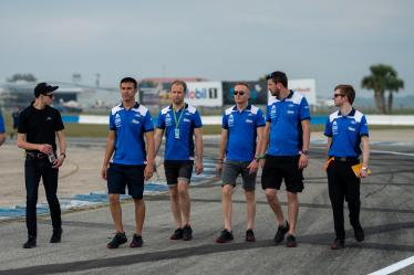 Drivers Track Walk -#66 FORD CHIP GANASSI TEAM UK / USA / Ford GT / Stefan Mucke (DEU) / Olivier Pla (FRA) / Billy Johnson (USA) - 1000 Miles of Sebring - Sebring international Raceway - Sebring - Florida - United States of America -