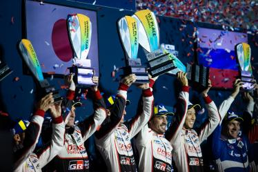 #8 TOYOTA GAZOO RACING / JPN / Toyota TS050 - Hybrid - Hybrid / Sebastien Buemi (CHE) / Fernando Alonso (ESP) / Kazuki Nakajima (JPN) - 1000 Miles of Sebring - Sebring international Raceway - Sebring - Florida - United States of America -