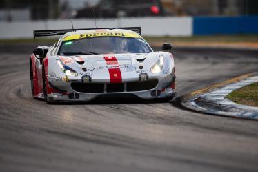 #54 SPIRIT OF RACE / CHE / Ferrari 488 GTE - 1000 Miles of Sebring - Sebring international Raceway - Sebring - Florida - United States of America -