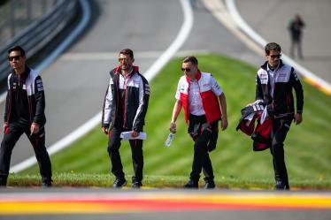 Drivers Track Walk - #7 TOYOTA GAZOO RACING / JPN / Mike Conway (GBR) / Kamui Kobayashi (JPN) / Jose Maria Lopez (ARG) -Total 6h of Spa Francorchamps - Circuit Spa Francorchamps - Stavelot - Belgium -