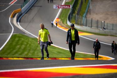 Drivers Track Walk - #95 ASTON MARTIN RACING / GBR / Aston Martin Vantage / Nicki Thiim (DNK) / Marco Sorensen (DNK) -  Total 6h of Spa Francorchamps - Circuit Spa Francorchamps - Stavelot - Belgium -