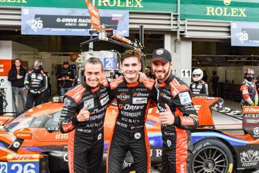 #26 G-DRIVE RACING / RUS / Aurus 01 - Gibson / Roman Rusinov (RUS) / Job Van Uitert (NLD) / Jean-Eric Vergne (FRA) -Total 6h of Spa Francorchamps - Circuit Spa Francorchamps - Stavelot - Belgium -