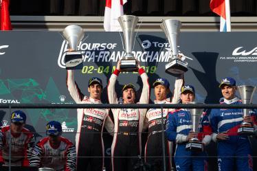 #8 TOYOTA GAZOO RACING / JPN / Toyota TS050 - Hybrid - Hybrid / Sebastien Buemi (CHE) / Fernando Alonso (ESP) / Kazuki Nakajima (JPN) - Total 6h of Spa Francorchamps - Circuit Spa Francorchamps - Stavelot - Belgium -