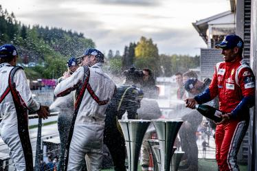 LMGTE Podium, Total 6h of Spa Francorchamps - Circuit Spa Francorchamps - Stavelot - Belgium -