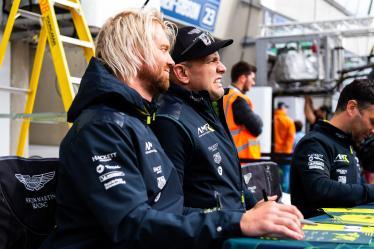Autograph Session -#95 ASTON MARTIN RACING / GBR / Aston Martin Vantage / Nicki Thiim (DNK) / Marco Sorensen (DNK) -24 hours of Le Mans - Circuit de la Sarthe - Le Mans - France -