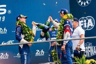#11 SMP RACING / RUS / BR Engineering BR1 - AER - Mikhail Aleshin (RUS) / Vitaly Petrov (RUS) / Stoffel Vandoorne (BEL) - 24 hours of Le Mans - Circuit de la Sarthe - Le Mans - France -