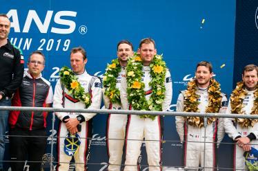 #93 PORSCHE GT TEAM / USA / Porsche 911 RSR / Patrick Pilet (FRA) / Nick Tandy (GBR) / Earl Bamber (NZL) -  24 hours of Le Mans - Circuit de la Sarthe - Le Mans - France -