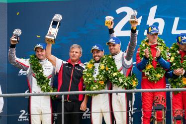 #91 PORSCHE GT TEAM / DEU / Porsche 911 RSR / Richard Lietz (AUT) / Gianmaria Bruni (ITA) / Frederic Makowiecki (FRA) -  24 hours of Le Mans - Circuit de la Sarthe - Le Mans - France -