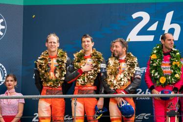 #56 TEAM PROJECT 1 / DEU / Porsche 911 RSR - J?rg Bergmeister (DEU) / Patrick Lindsey (USA) / Egidio Perfetti (NOR) - 24 hours of Le Mans - Circuit de la Sarthe - Le Mans - France -
