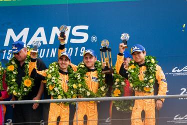 #84 JMW MOTORSPORT / GBR / FERRARI 488 GTE / Rodrigo Baptista (BRA) / Cooper Macneil (USA) / Jeffrey Segal (USA) - 24 hours of Le Mans - Circuit de la Sarthe - Le Mans - France -