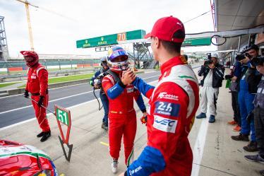 #51 AF CORSE / ITA / Ferrari 488 GTE / James Calado (GBR) / Alessandro Pier Guidi (ITA) - LMGTE PRO  Pole Position -4 hours of Silverstone - Silverstone  - Towcester - Great Britain  -