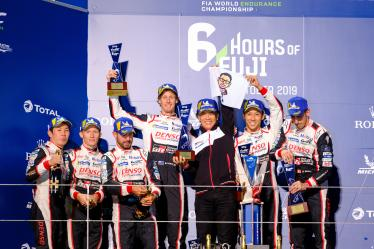 Podium LMP1- 6 Hours of Fuji - Fuji International Speedway - Oyama - Japan