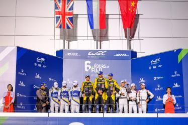 Overall Podium LMP2- 6 Hours of Fuji - Fuji International Speedway - Oyama - Japan