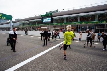 ASTON MARTIN RACING / GBR / Aston Martin Vantage / Marco Sorensen (DNK) / Nicki Thiim (DNK) - #92 PORSCHE GT TEAM / DEU / Porsche 911 RSR / Michael Christensen (DNK) / Kevin Estre (FRA) - - 4 Hours of Shanghai - Shanghai International Circuit - Shanghai - China