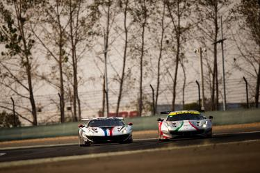 #83 AF CORSE / ITA / Ferrari 488 GTE EVO -  #54 SPIRIT OF RACE / ITA / Ferrari 488 GTE EVO -  - 4 Hours of Shanghai - Shanghai International Circuit - Shanghai - China