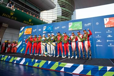 Class Winners- 4 Hours of Shanghai - Shanghai International Circuit - Shanghai - China