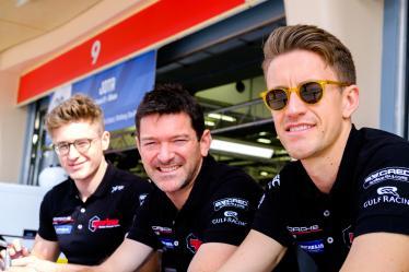 #86 GULF RACING / GBR / Porsche 911 RSR (991) / Michael Wainwright (GBR) / Andrew Watson (GRB) / Benjamim Barker (GRB) -- Bapco 8 hours of Bahrain - Bahrain International Circuit - Sakhir - Bahrain