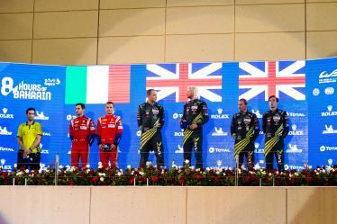 #71 AF CORSE / ITA / Ferrari 488 GTE / Davide Rigon (ITA) / Miguel Molina (ESP) -  ASTON MARTIN RACING / GBR / Aston Martin Vantage / Marco Sorensen (DNK) / Nicki Thiim (DNK) - #97 ASTON MARTIN RACING / GBR / Aston Martin Vantage / Alex Lynn (GBR) / Maxime Martin (BEL)  - Bapco 8 hours of Bahrain - Bahrain International Circuit - Sakhir - Bahrain