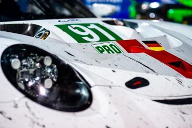 Parc Ferme - #91 PORSCHE GT TEAM / DEU / Porsche 911 RSR - - Bapco 8 hours of Bahrain - Bahrain International Circuit - Sakhir - Bahrain