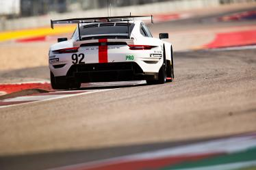 #92 PORSCHE GT TEAM / DEU / Porsche 911 RSR -  - Lone Star Le Mans - Circuit of the Americas - Austin - USA